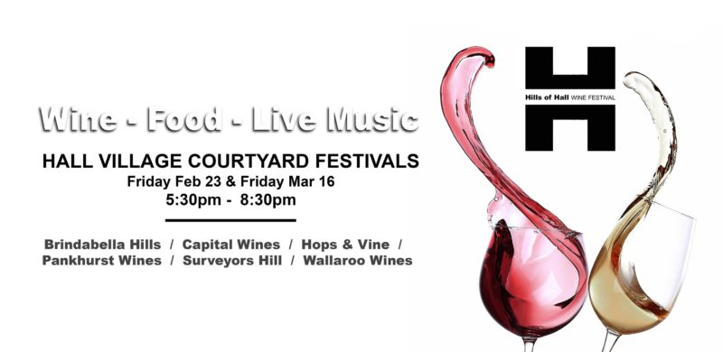Hall Village Courtyard Festival @ Hops and Vine