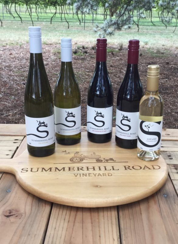 Free Wine Tasting from Summerhill Road Vineyard @ Hops and Vine