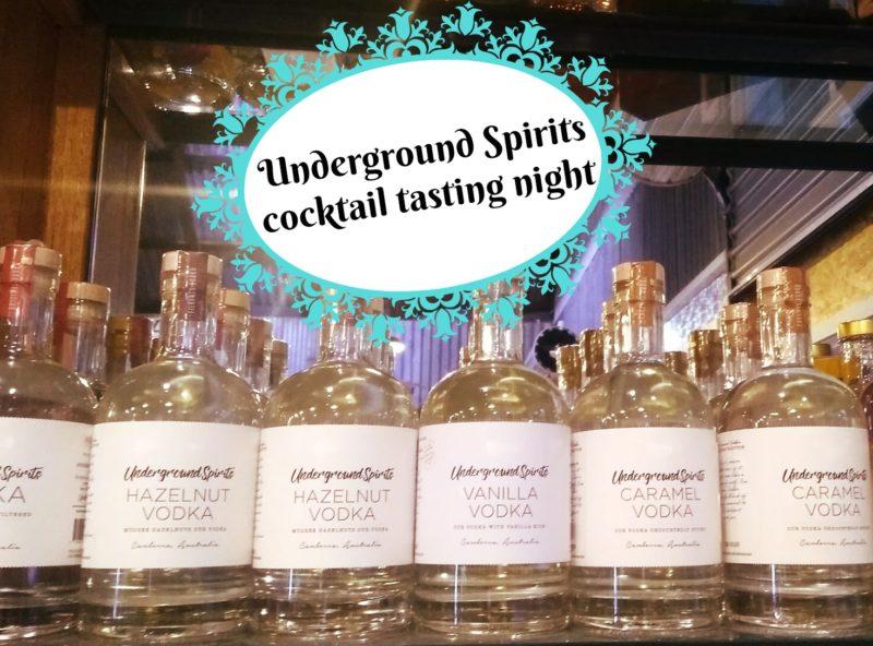 Underground Spirits Cocktails @ Hops and Vine Hall