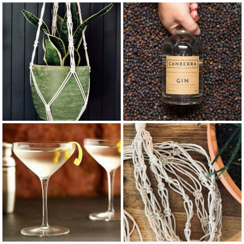 Macrame and Martinis - 3 November @ Hops and Vine Hall