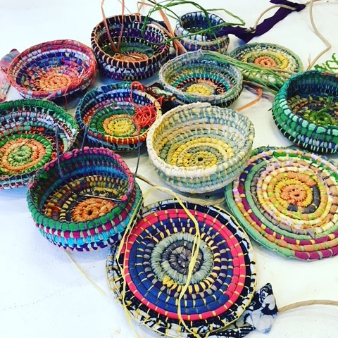 Wine and Weaving - Beer and baskets - 12 Oct @ Hops and Vine Hall
