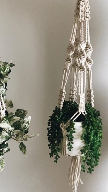 Macrame Pot Hanger Workshop - 12 May @ Hops and Vine Hall