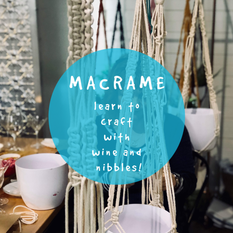 Macrame Workshop - 2 November @ Hops and Vine Hall